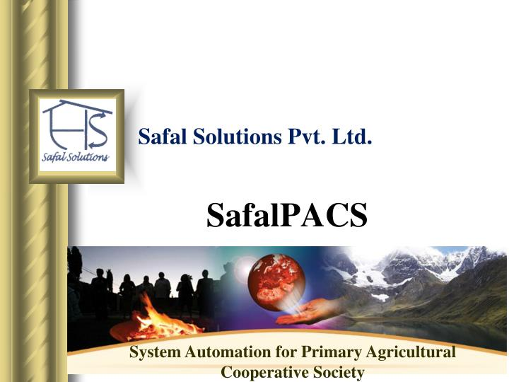 Safal solutions pvt ltd