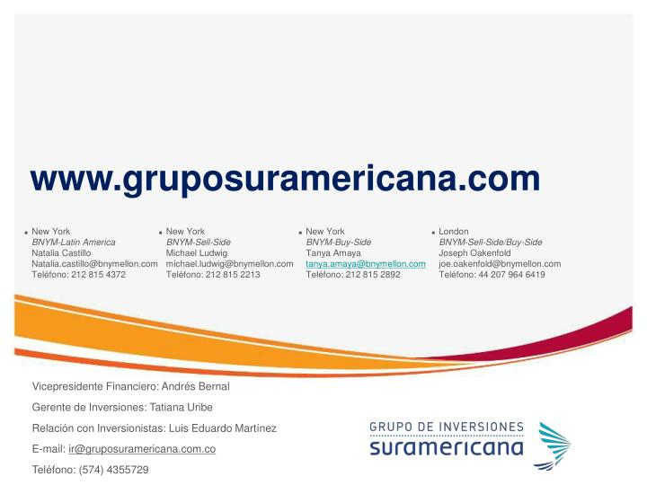 www.gruposuramericana.com