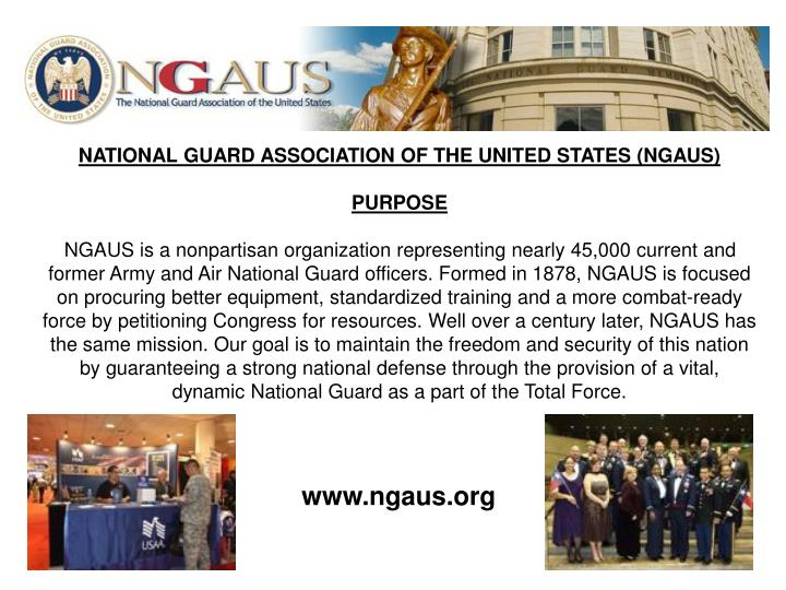 NATIONAL GUARD ASSOCIATION OF THE UNITED STATES (NGAUS)
