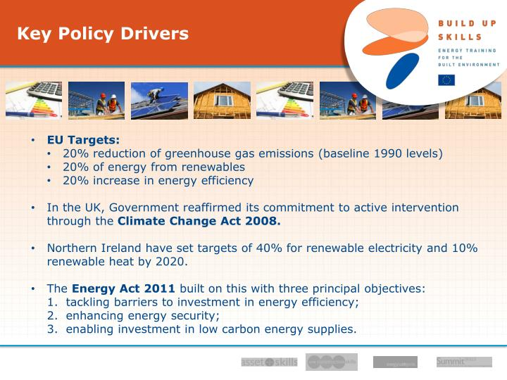 Key Policy Drivers