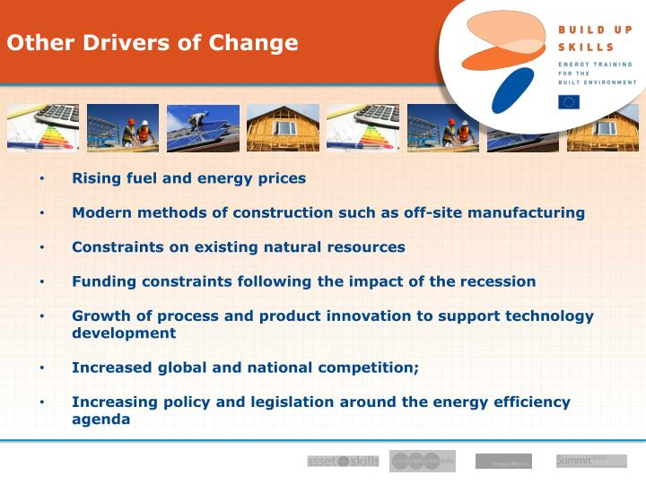 Other Drivers of Change