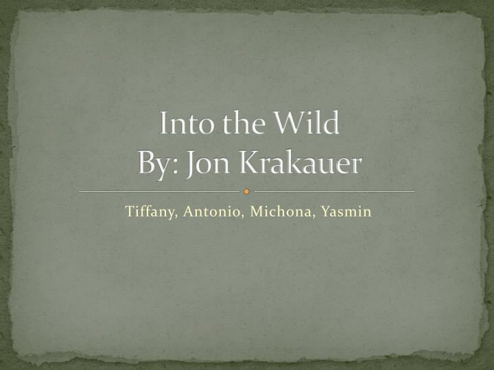 essay into the wild jon krakauer