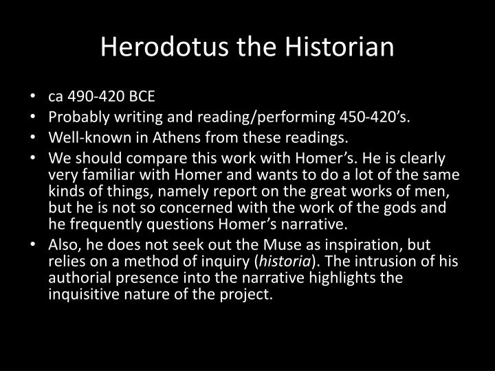 Herodotus the Historian