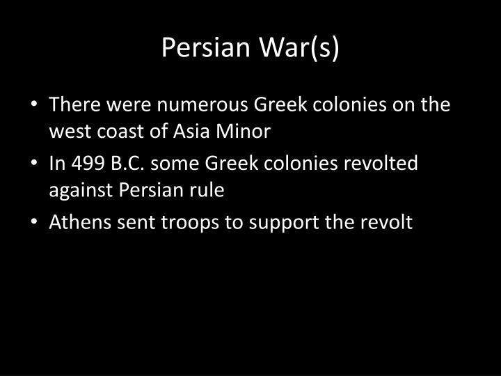 Persian War(s)
