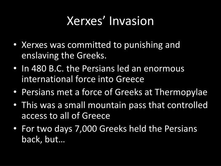 Xerxes' Invasion