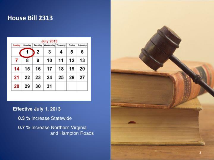 House Bill 2313