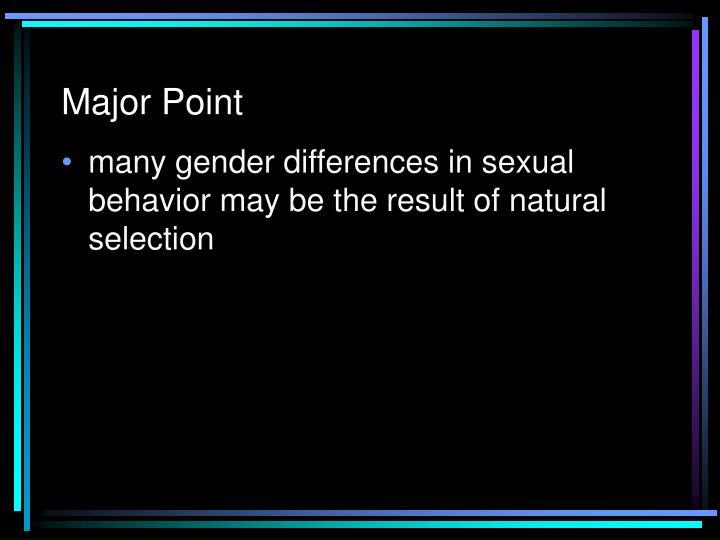 Major Point