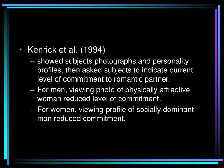 Kenrick et al. (1994)