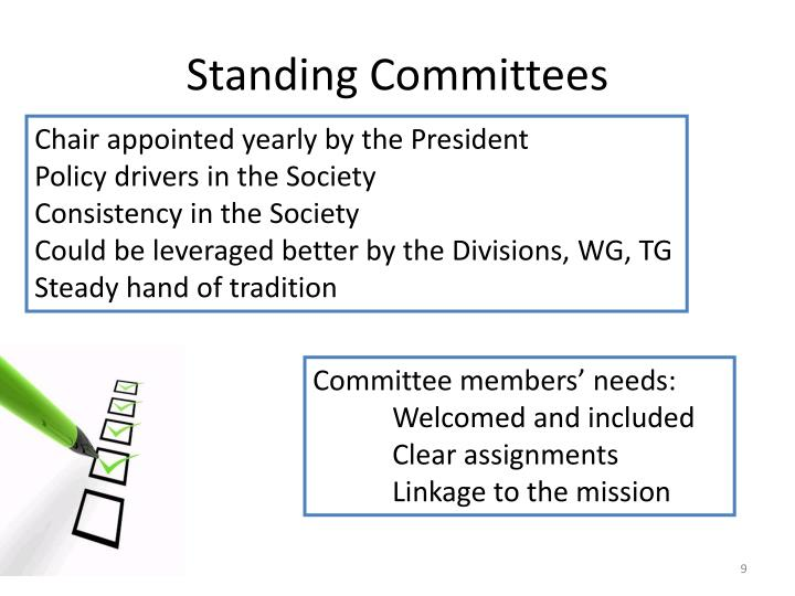 Standing Committees