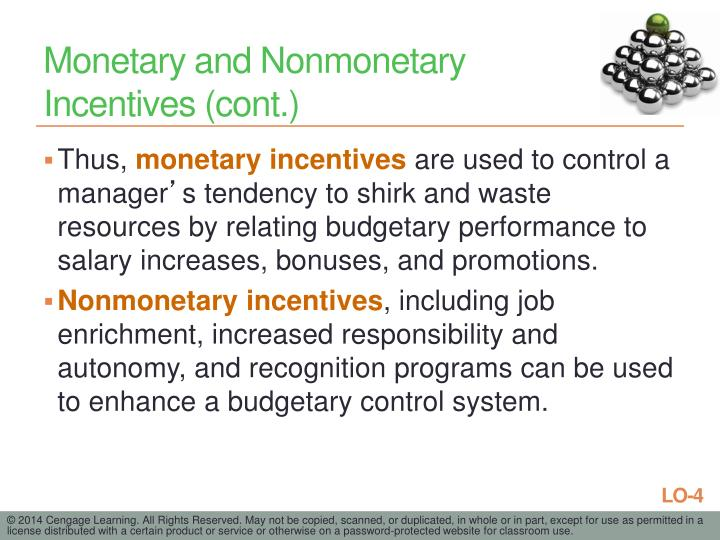 Monetary and Nonmonetary
