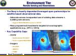 environment tier remote sensing and observations