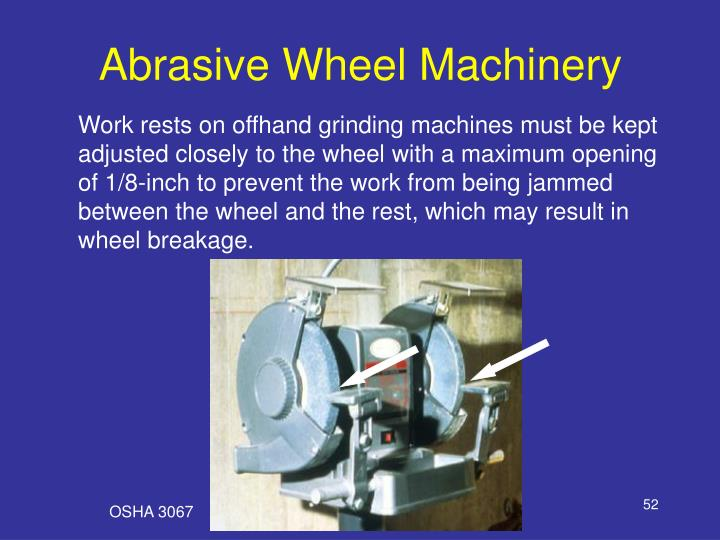 Abrasive Wheel Machinery