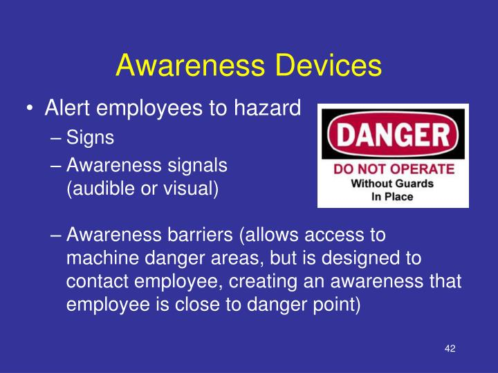 Awareness Devices