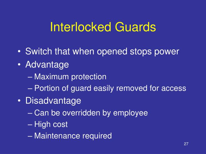 Interlocked Guards