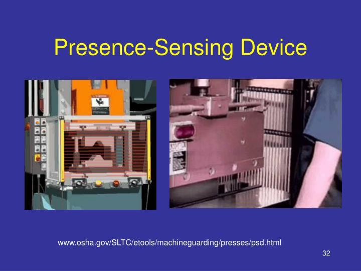 Presence-Sensing Device
