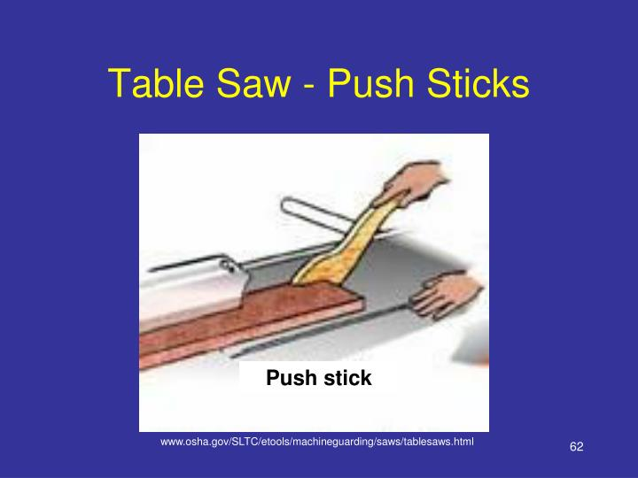 Table Saw - Push Sticks