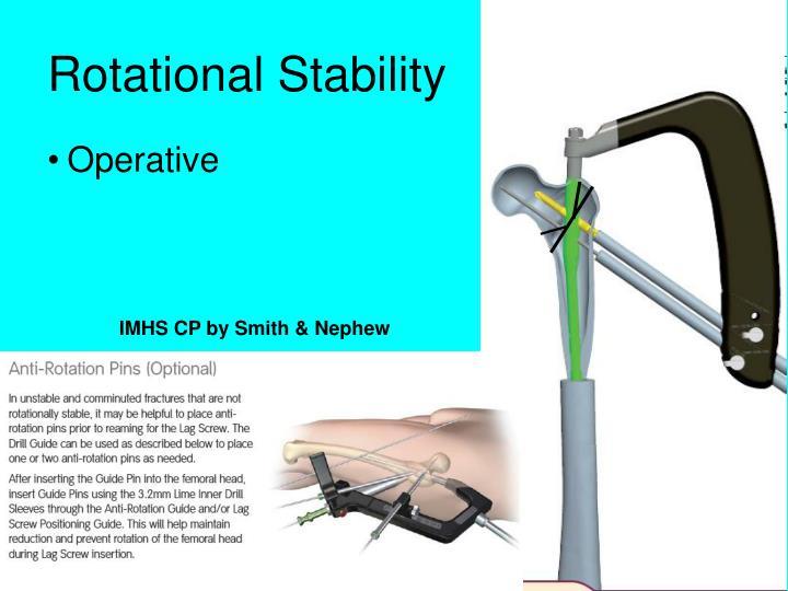 IMHS CP by Smith & Nephew