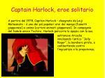 captain harlock eroe solitario