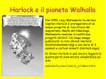 harlock e il pianeta walhalla