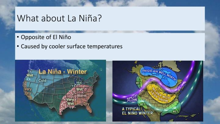 What about La Niña?