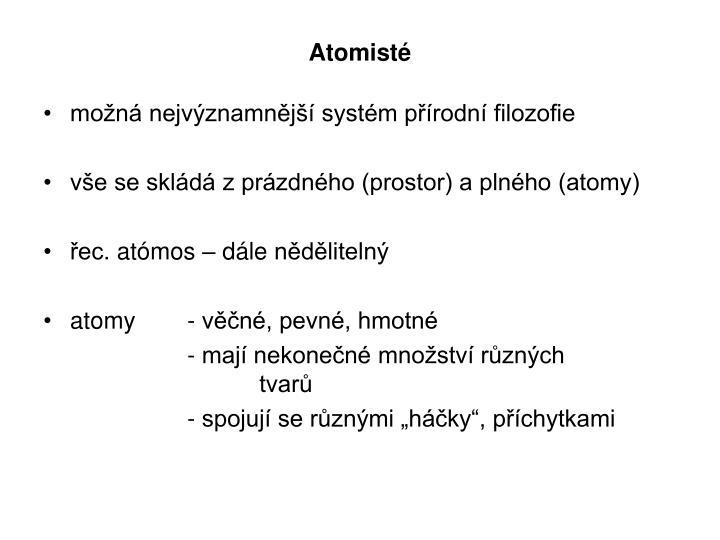 Atomisté