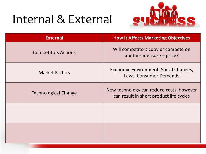 Internal & External