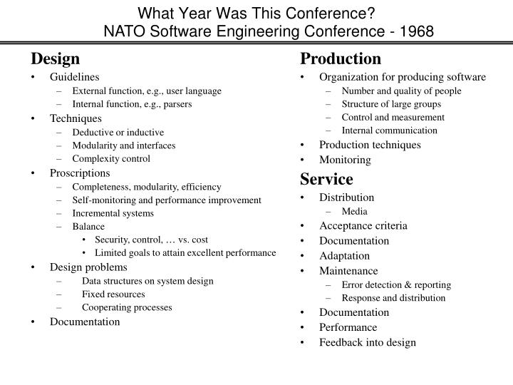 What Year Was This Conference?