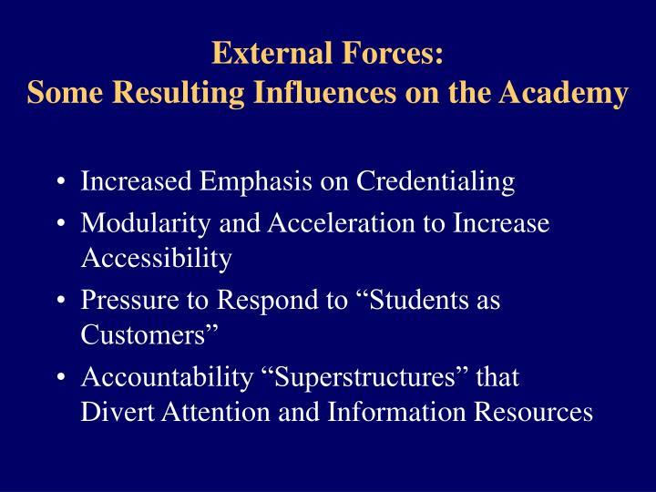 External Forces: