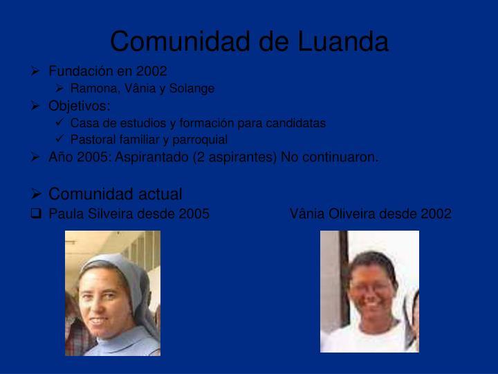 Comunidad de Luanda