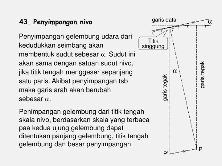 garis datar