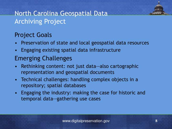 North Carolina Geospatial Data