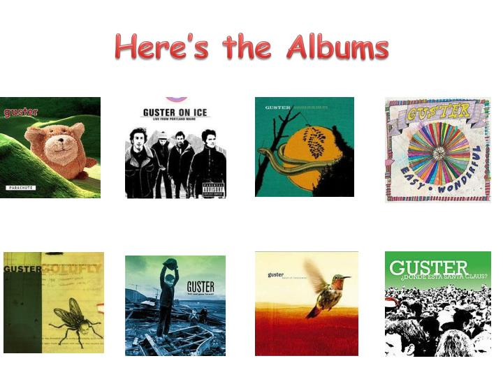 Here's the Albums