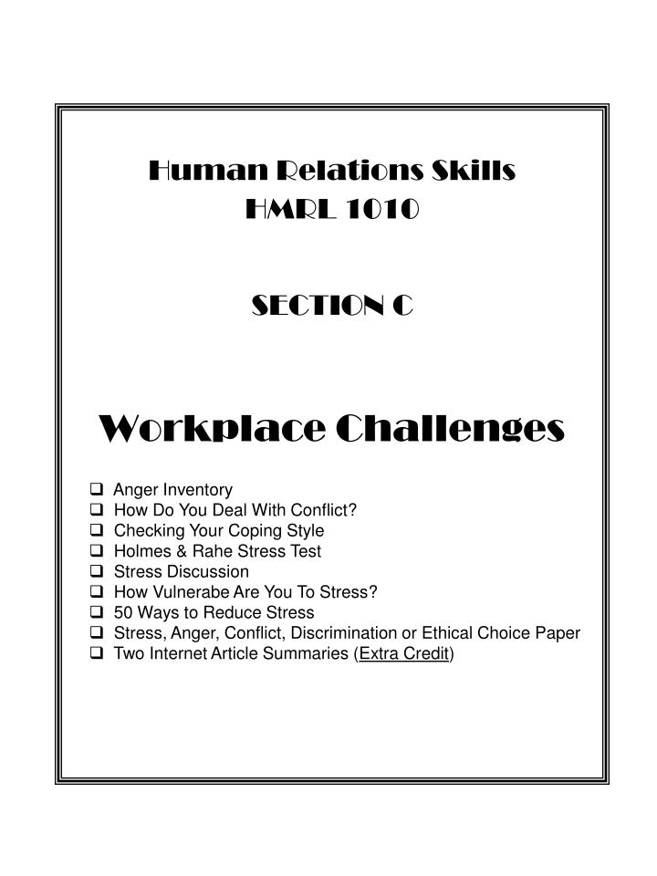 challenges in human relations Hr issues in the workplace 2 topics nsw ir conducts human resource workshops to provide guidance and resources to employers relating to: managing employees  employers with information and tools to deal with industrial relations issues and human resource issues.