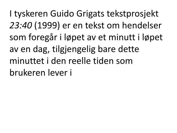I tyskeren Guido