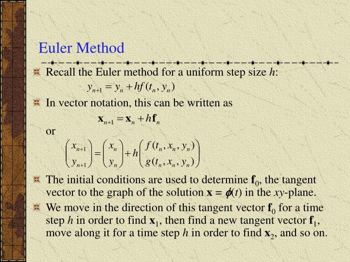Euler method