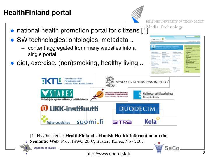 HealthFinland portal