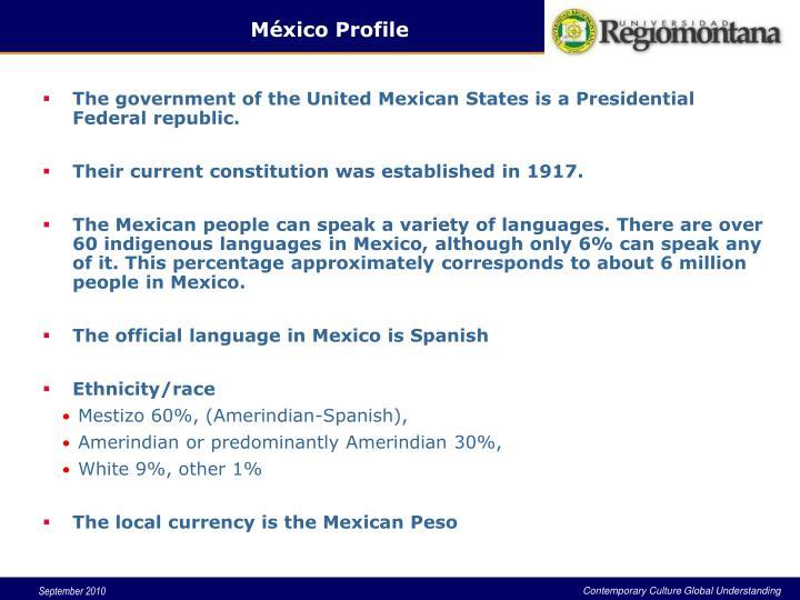 México Profile