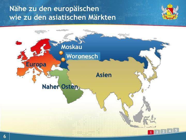 Nähe zu den europäischen