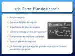 2da parte plan de negocio