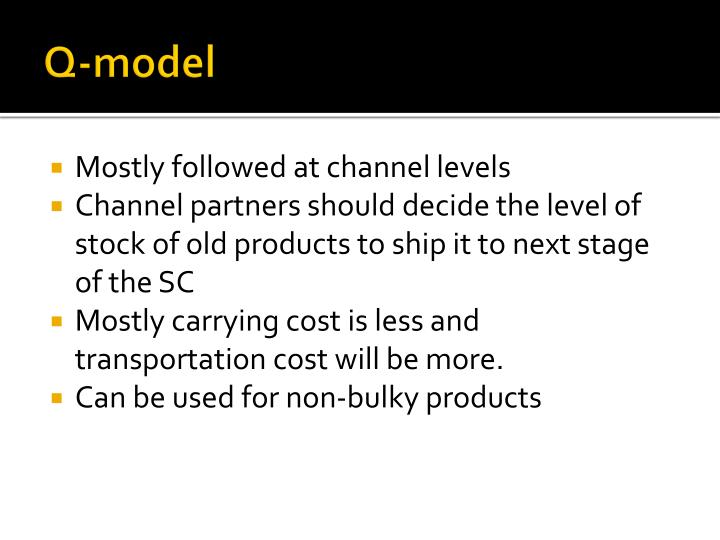 Q-model