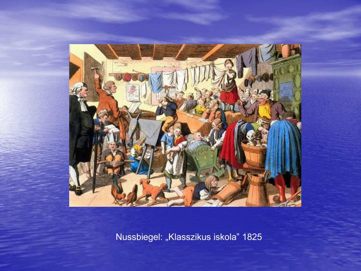 "Nussbiegel: ""Klasszikus iskola"" 1825"