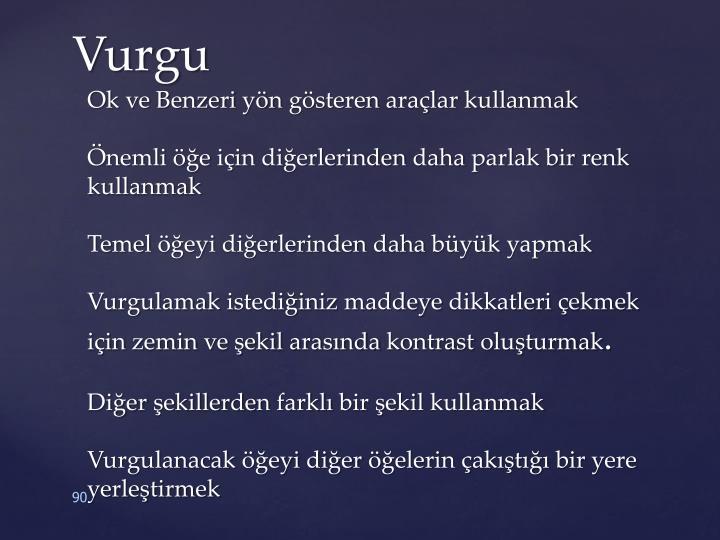 Vurgu