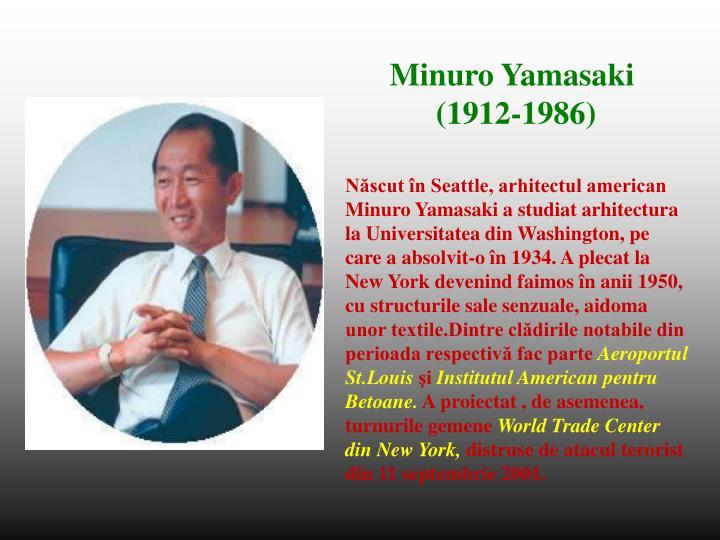 Minuro Yamasaki