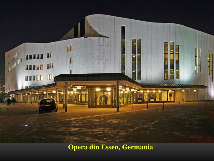 Opera din Essen, Germania