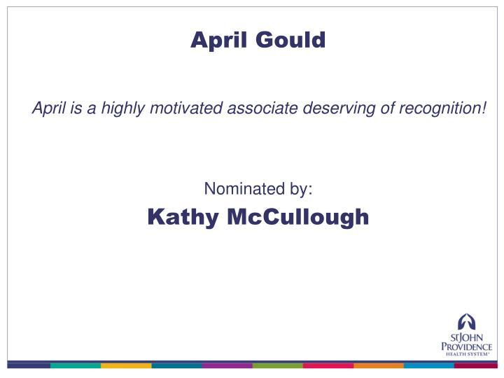 April Gould