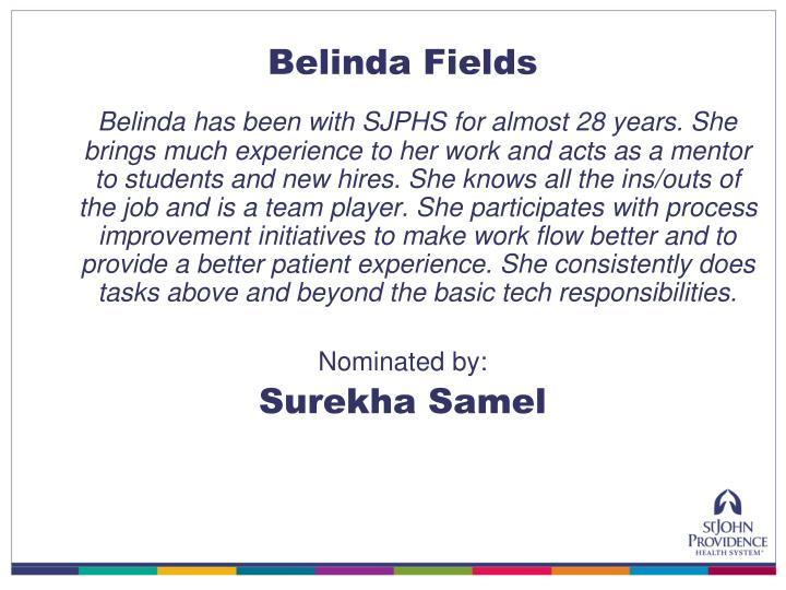 Belinda Fields