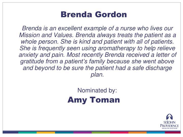 Brenda Gordon