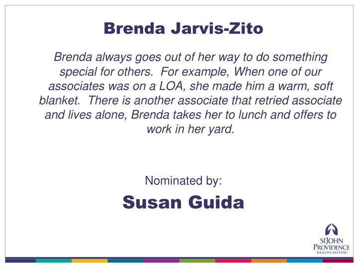 Brenda Jarvis-Zito