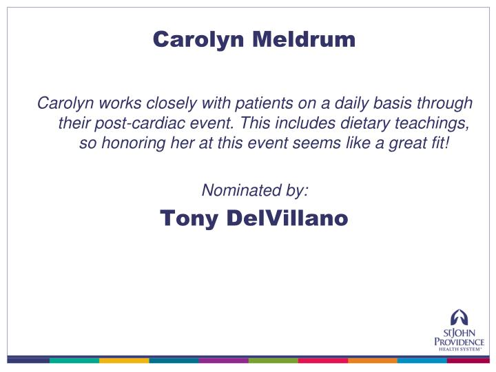 Carolyn Meldrum