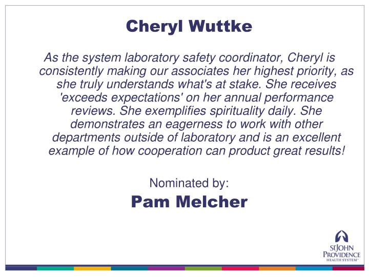Cheryl Wuttke